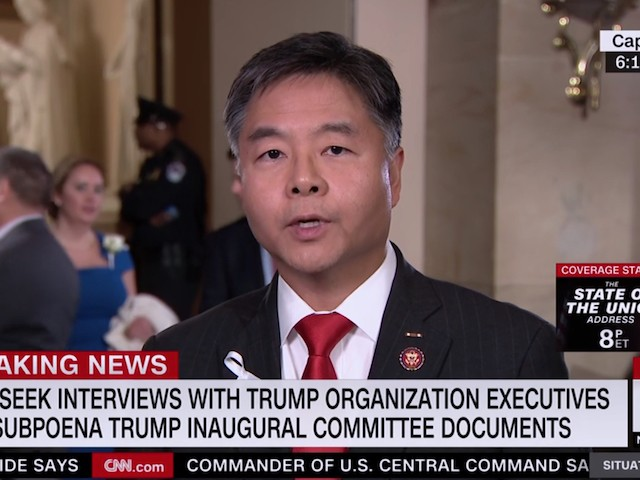 Ted Lieu: AG Barr Is 'a Pawn of the President'