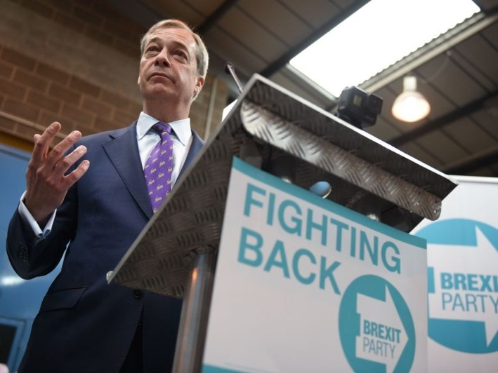 Farage Launches Brexit Party to 'Begin Political Revolution in UK'