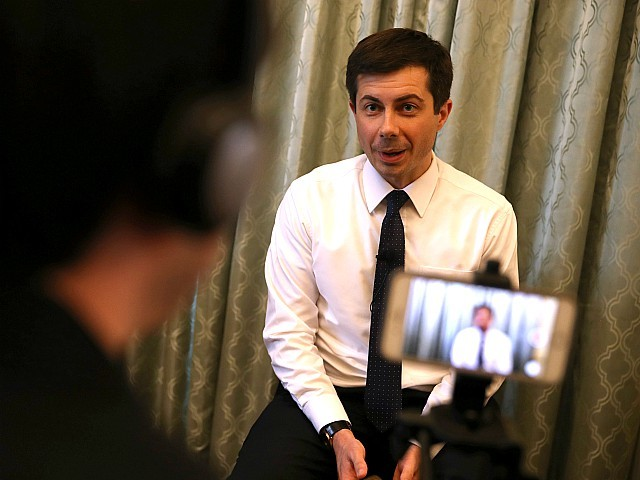 Mayor Pete Buttigieg Hits L.A. to Gin Up Hollywood Support