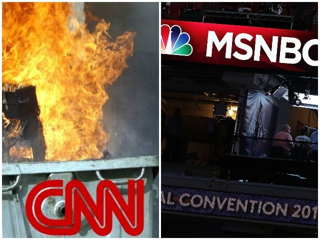 Nolte: CNN Loses Nearly 50% of Primetime Audience, MSNBC Down Nearly 30%