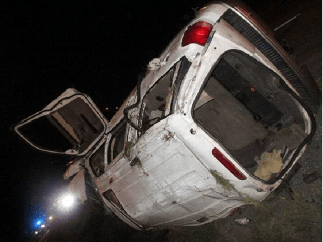 Two Migrants Dead as Vehicle Chase Ends in Roll-Over Crash