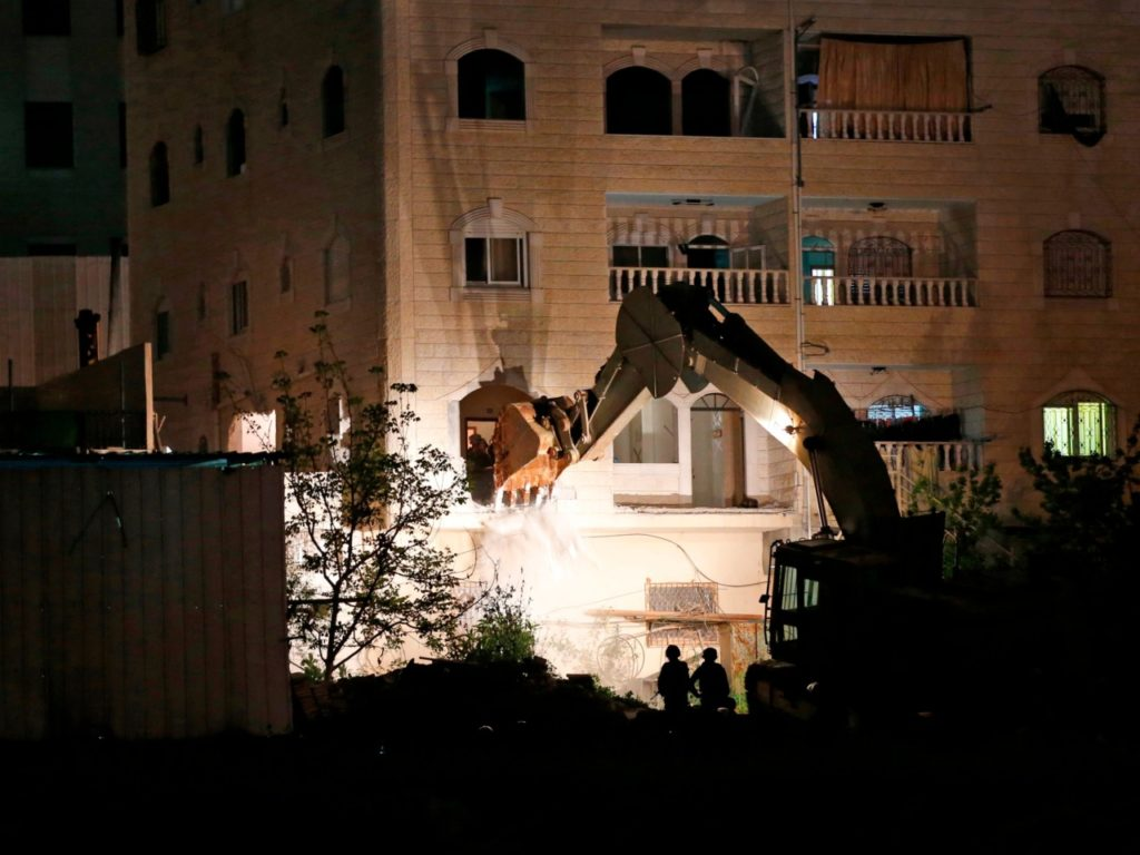 Israel Destroys Apartments of Palestinian Rape, Murder Suspect