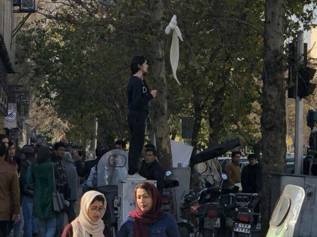 Iranian Hijab Protester Vida Movahed Receives Prison Sentence