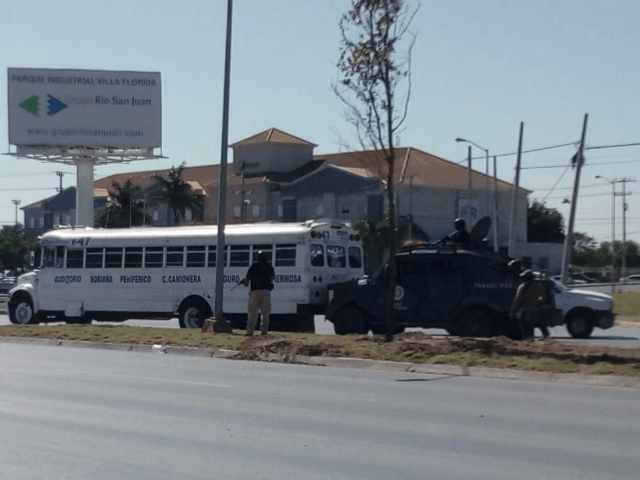 Gulf Cartel Blockades Shut Down Mexican Border City