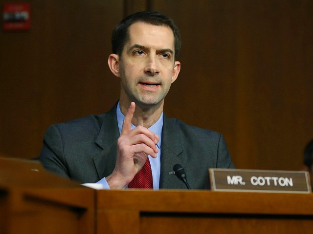 GOP Sen. Cotton: Nadler Wrong to Say Staff Lawyers Questioning AG Barr Is 'Standard Method'