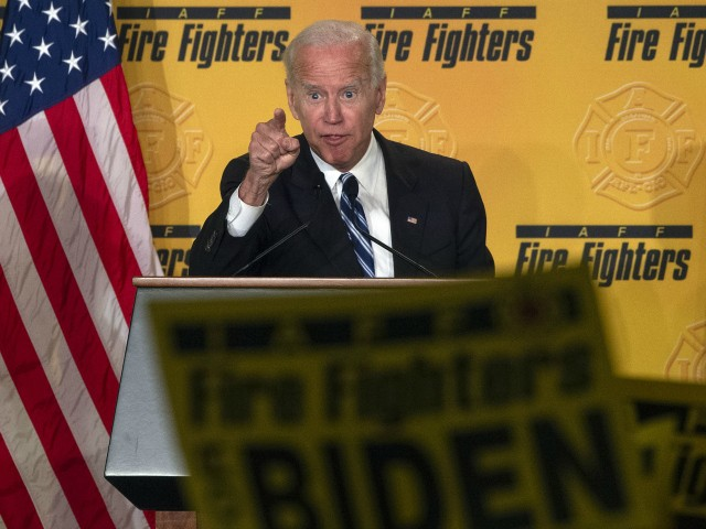 Donald Trump Rips 'Dues Sucking' Fire Fighters Union for Endorsing Joe Biden