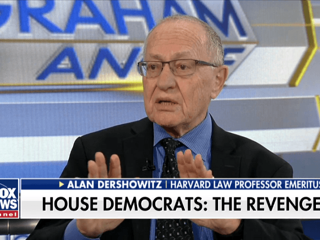 Dershowitz: Maxine Waters 'Better Start Listening' -- Impeachment Is 'Going to Come Back to Hurt the Democrats'