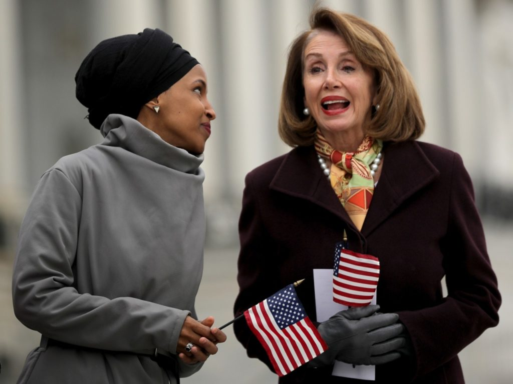 Donald Trump: 'Out of Control' Ilhan Omar Controls Nancy Pelosi