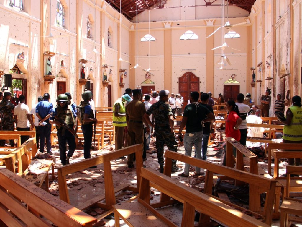 Explosions Rock Sri Lanka Churches: At Least 200 Killed in Easter Sunday Attacks