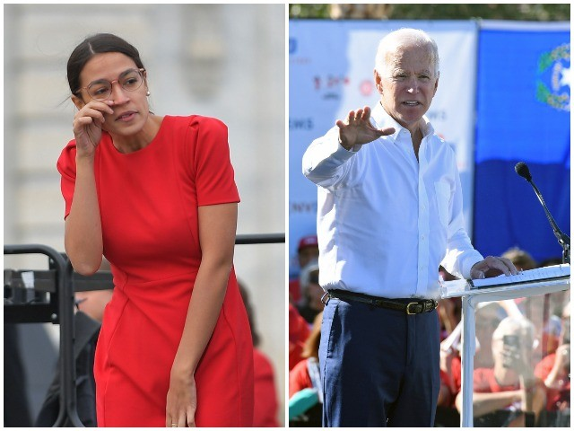 Alexandria Ocasio-Cortez Not Excited by Joe Biden 2020: 'I Don't Want to Go Back'