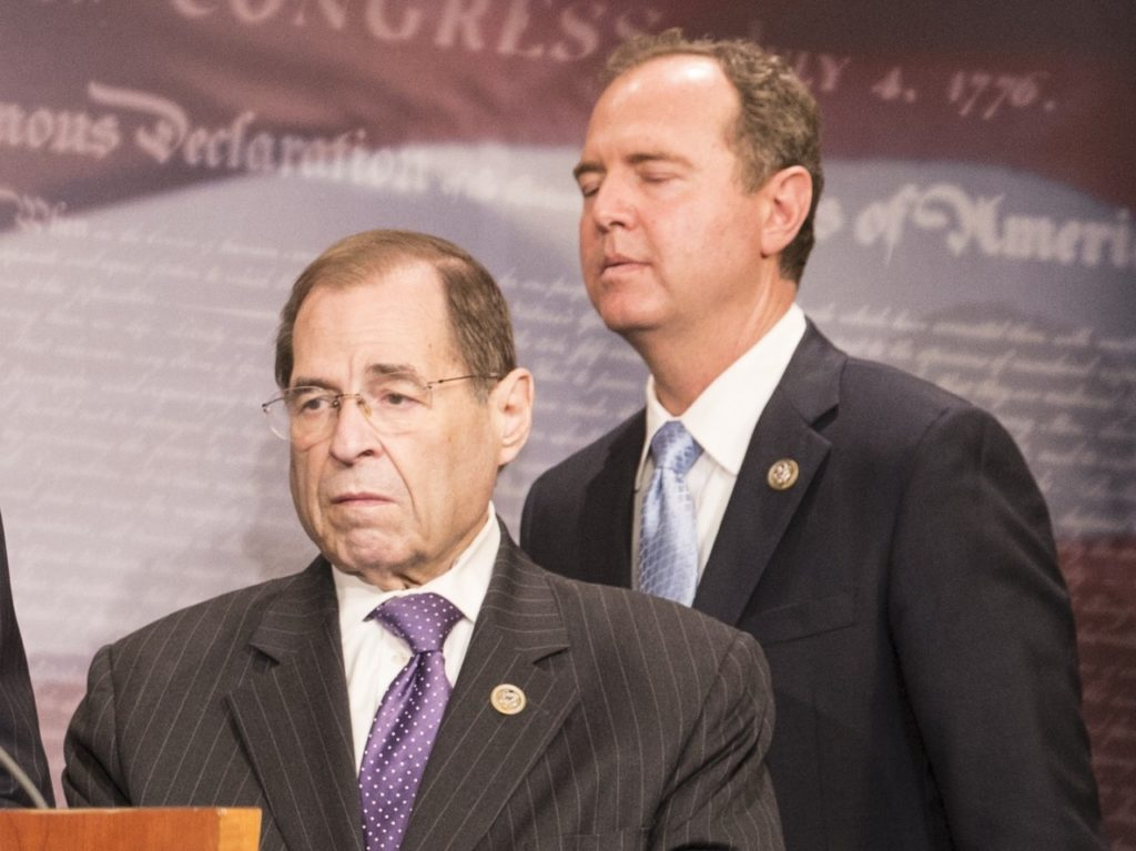 Pollak: Jerry Nadler and Adam Schiff Want to Turn Congress into Fusion GPS