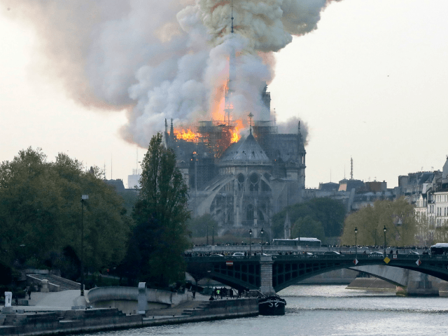Harvard University Architecture Historian: Notre-Dame Burning Down Is 'Act of Liberation'