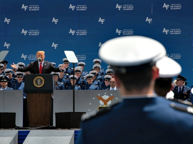'We Never Get Tired of Winning' — Donald Trump Honors Air Force Academy Graduates
