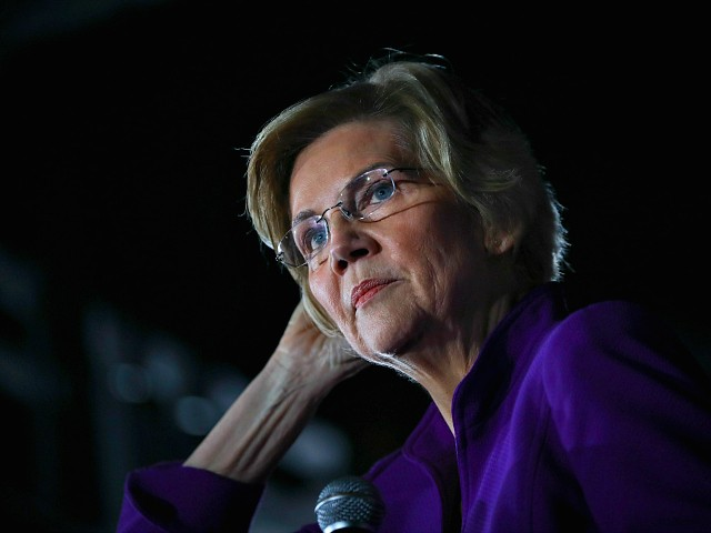 Sen. Elizabeth Warren: If Trump Weren't President, 'He'd Be in Handcuffs'
