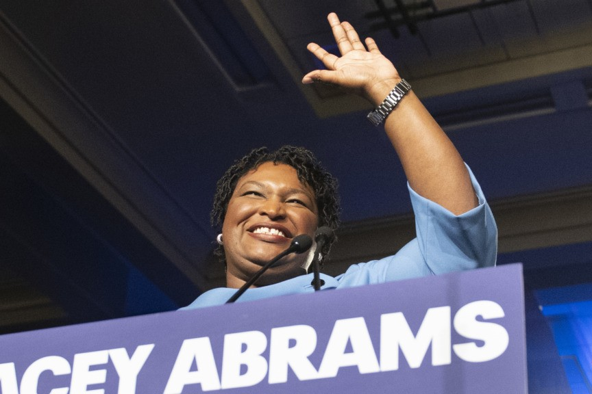Report: Many Black Voters, Activists Waiting for Potential Stacey Abrams 2020 Run