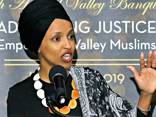 Socialist Group Applauds Rep. Ilhan Omar's CAIR Speech, Calls Pro-Trump Protesters 'Fascists'