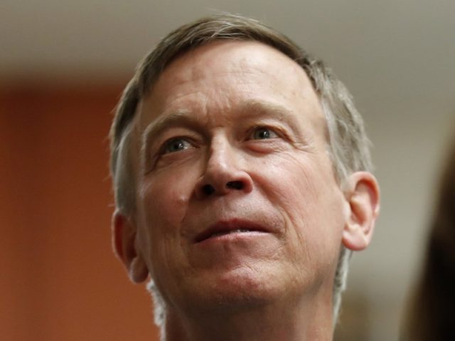 Hickenlooper: 'Trump Is a Form of a Natural Disaster'