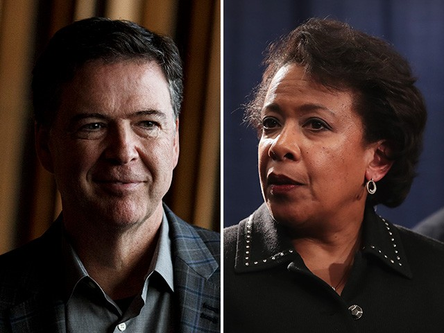 Deep State Blame Game: Loretta Lynch Contradicts Comey's Testimony on Clinton Email Investigation