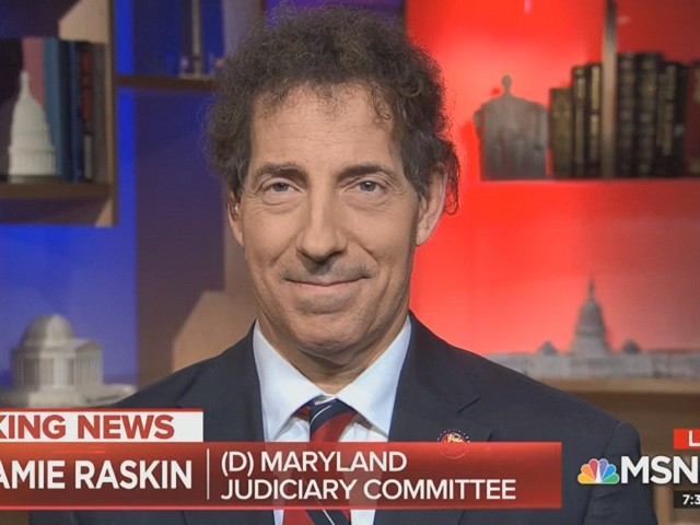 Dem Rep. Raskin: Caucus Believes 'We Need Everything on the Table' including 25th Amendment and Impeachment