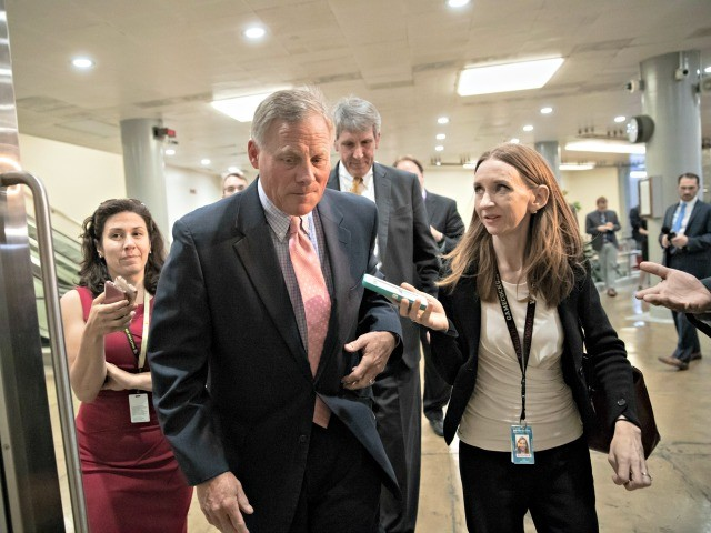 Duck and Cover: Richard Burr Runs Away from Reporters Asking About Rogue Subpoena of Trump, Jr.