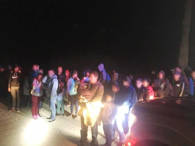 Large Group of 231 Migrants Apprehended at Arizona Border