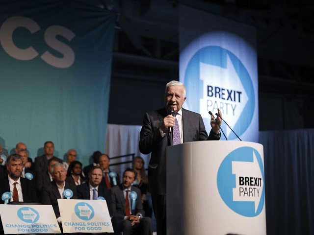 Former Czech President Vaclav Klaus Makes Surprise Speech at Brexit Rally