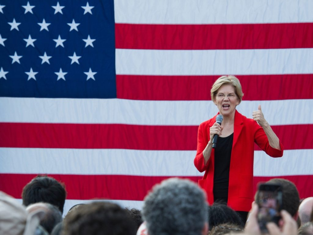 Warren Calls for Federal Government Intervention to Keep Abortion Legal
