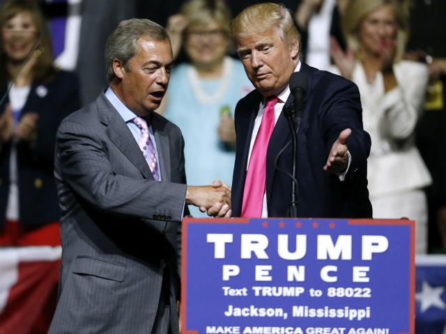 Pollak: Brexit Party Win Also a Victory for Trump