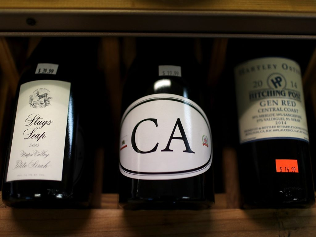 Trump to Tackle French Duties on 'Great' American Wine