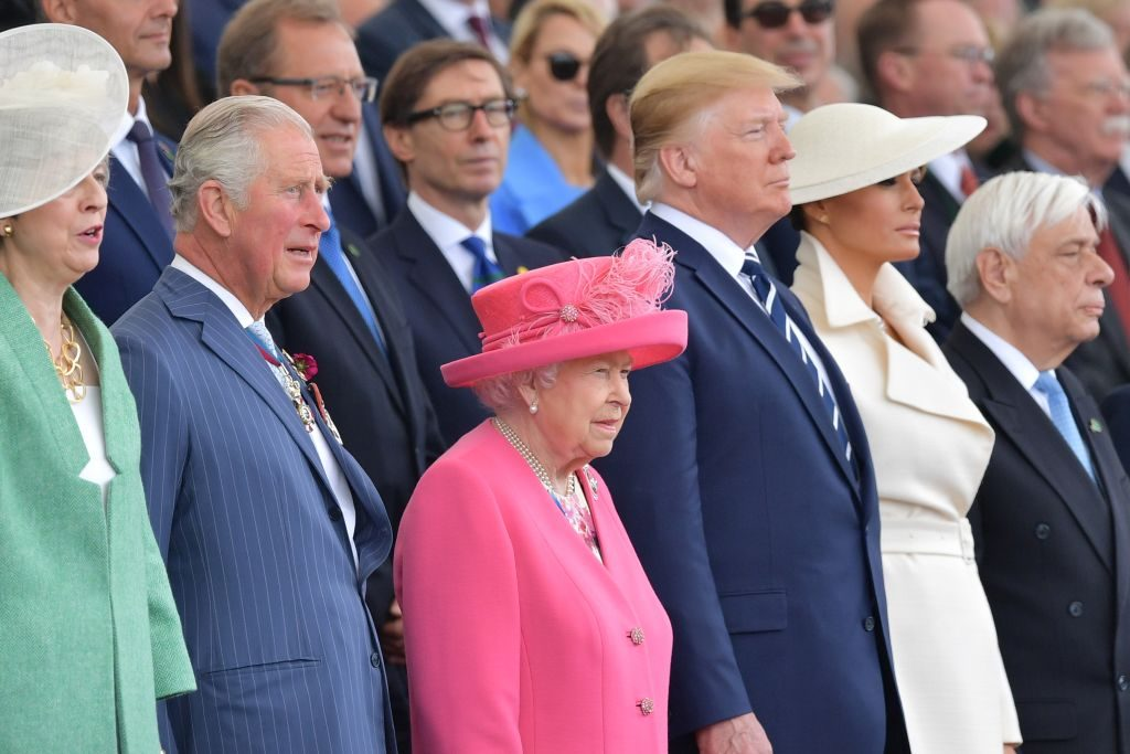 Pics: President Trump, Queen Elizabeth II, World Leaders Gather in Portsmouth to Commemorate D-Day Landings
