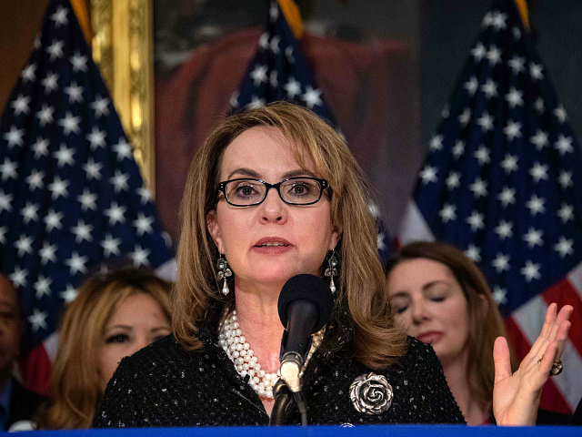 Gabby Giffords Lauds Salesforce for Mandating Retailers End AR-15 Sales