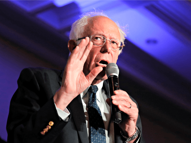 Bernie at Move On: Slash Military Spending and Move 'Toward Global Community'