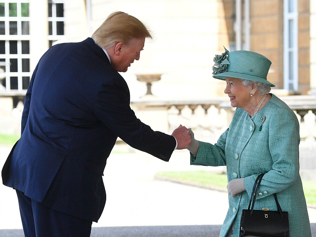 PICTURES: Her Majesty Smiles as Trump Meets British Royals During State Visit