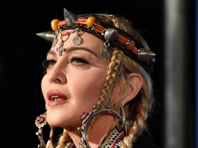 Madonna: Something 'Poetic and Sometimes Sexual' About Jesus Hanging on the Cross