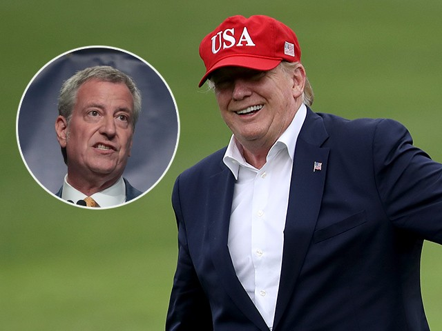 Poll: More People in New York City Like Trump Than Bill de Blasio