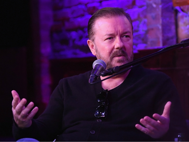 Ricky Gervais Calls Out Milkshake-Throwing Leftists: Same People Who Think 'Saying Things' is Violence