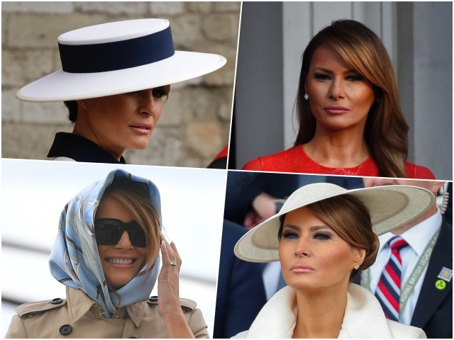 Fashion Notes: From Gucci to Burberry, Melania Trump Revives Lost Glamour
