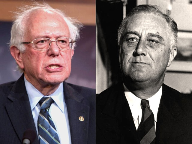 Pinkerton: Bernie Sanders Falsely Wraps 'Democratic Socialism' in the Flag of Roosevelt's New Deal