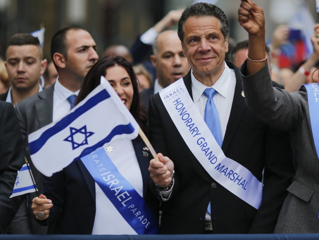 Blue State Blues: Andrew Cuomo, Israel's Fair-weather Friend