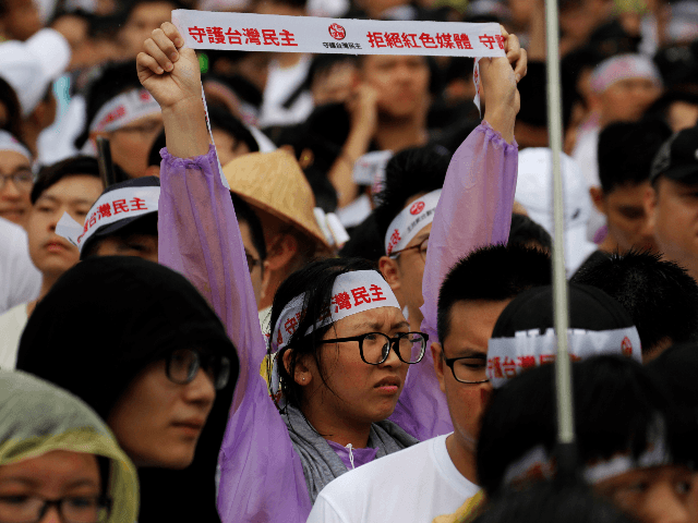 Thousands March in Taiwan to Protest Pro-Beijing Media