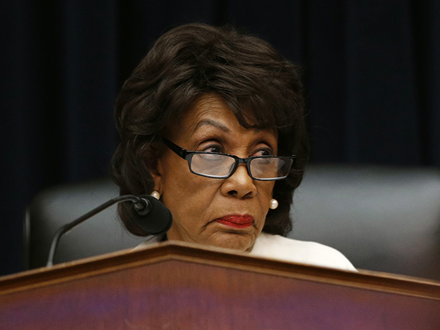Maxine Waters Admits Her Crusade to Impeach Trump Has Little Support