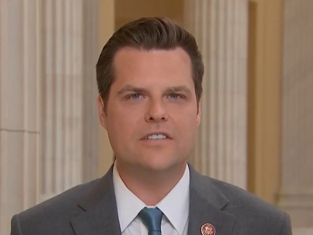 Gaetz Threatens Effort to Repeal Section 230 'Special Immunities' over Tech Company Bias