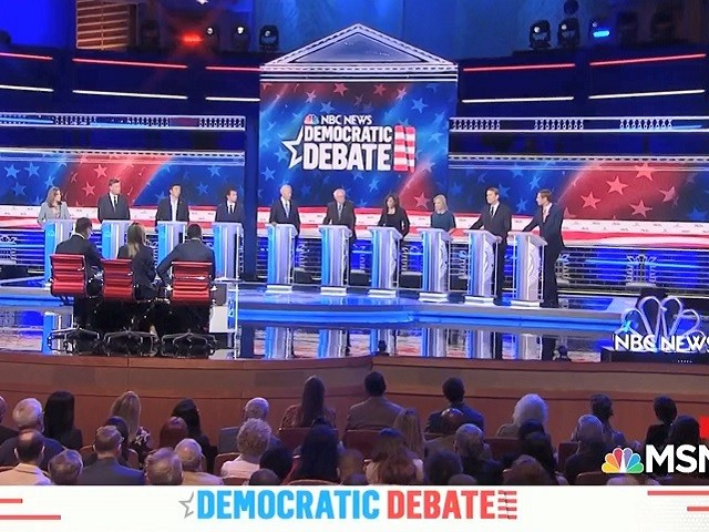 Watch: Most Dem Candidates in 2nd Debate Support Decriminalizing Crossing Border Without Documents