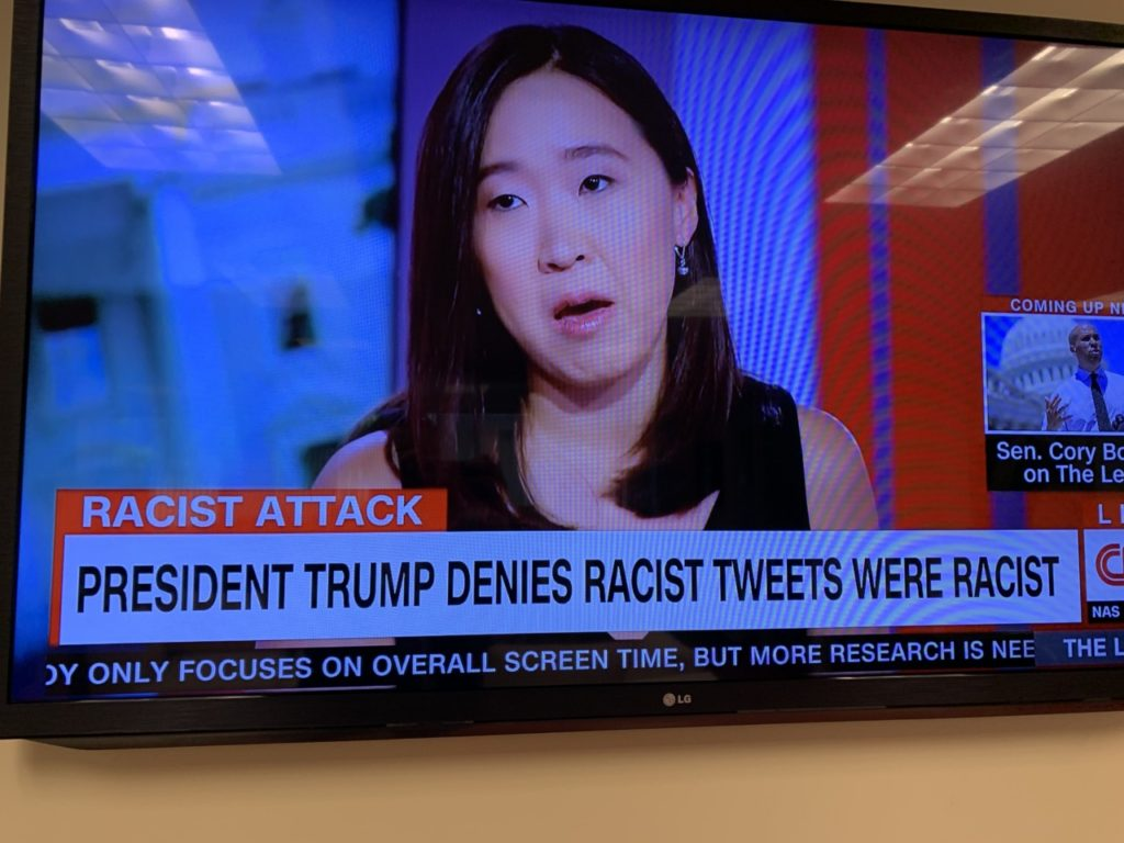 CNN Chyron Calls Trump Tweets 'Racist'; MSNBC, Fox News Impartial