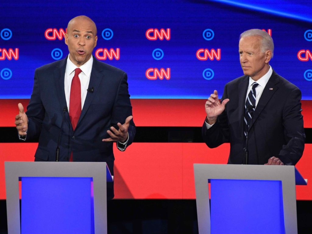 Cory Booker: Joe Biden 'Dipping into the Kool-Aid' on Criminal Justice