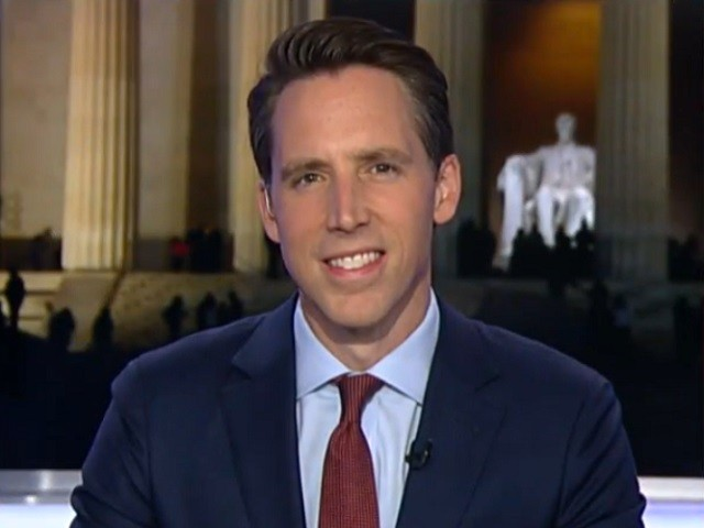 GOP Sen. Hawley: There's Only One Thing Liberals Love More Than Being Elitist and That Is Accusing Everybody Else of Being Bigots