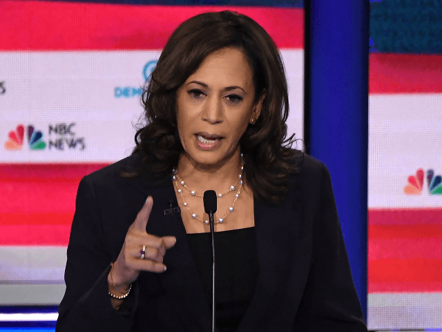 Kamala Harris Slams Joe Biden for 'Revisionist History'