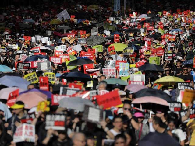 PHOTOS: Thousands Storm Hong Kong to Protest China on Anniversary of Handover