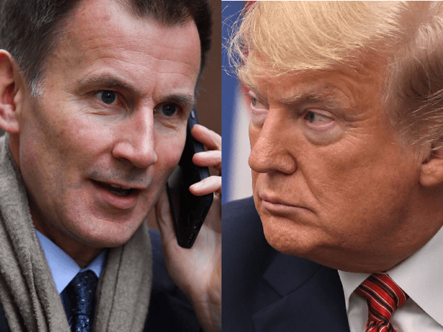 Britain's Jeremy Hunt Assures U.S.: Iran Nuclear Deal 'Isn't Dead Yet'