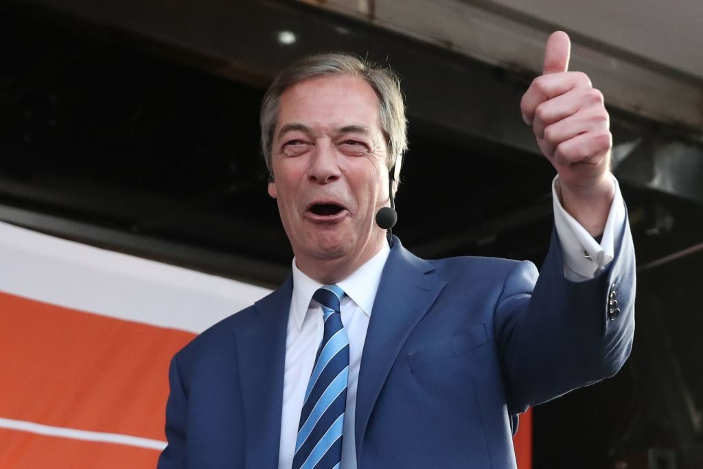 Exclusive Video: Nigel Farage Channels Andrew Breitbart – 'Be Happy Warriors!'